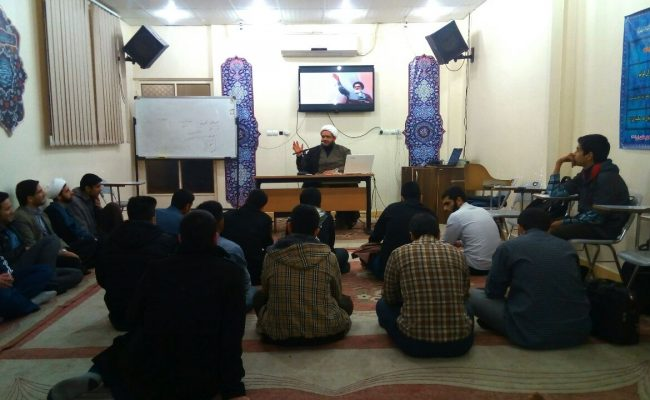 جلسه هفتگی محفل انصارالمهدی (عج)